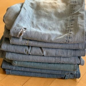 Other - Bundle of 7 pairs of Men's Lucky Brand Jeans